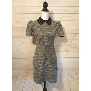 NWT River Island Lace Collar Shift Dress Size 2 US